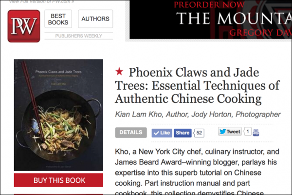 Read more about the article A Starred Review in Publishers Weekly